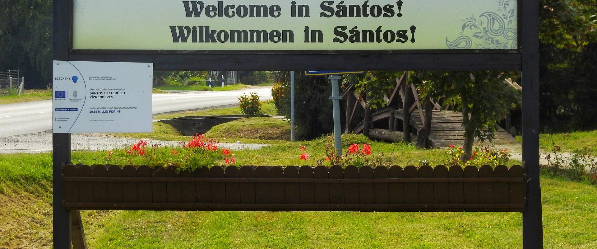 Üdvözöljük Sántoson!